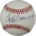 Autographs:Baseballs, Fernando Valenzuela Single Signed Baseball. One of the few Mexicansto make a significant mark at the major league level, F...