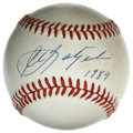 Autographs:Baseballs, Carl Yastrzemski Single Signed Baseball. Though he was signed as ashortstop out of Notre Dame, Carl Yastrzemski took Ted W...