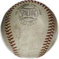 Autographs:Baseballs, 1961 All-Stars Multi-Signed Baseball. From the first All-Star game in 1961, played at Candlestick Park in San Francisco we ...