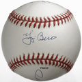 Autographs:Baseballs, Baseball Hall of Famers Multi-Signed Baseball. Clean baseballoffered here has been signed by four of baseball's Hall of Fa...