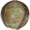 Autographs:Baseballs, 1946 St. Louis Cardinals World Champion Team Signed Baseball. 1946marked the year of another of the St. Louis Cardinals' m...