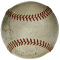 Autographs:Baseballs, 1947 New York Yankees World Champion Team Signed Baseball. In hisfirst year at the helm of the New York Yankees, Bucky Har...