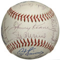 Autographs:Baseballs, 1963 St. Louis Cardinals Team Signed Baseball. The 1963 St. LouisCardinals were chock full of tremendous talent, a fact th...