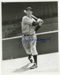 Autographs:Photos, Joe DiMaggio Signed Photograph. Stunning example of the mostpopular DiMaggio's desirable signature resides on the surface ...