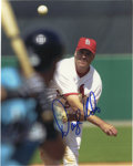 "Autographs:Photos, Darryl Kile Signed Photograph. Fantastic 8x10"" image that we seehere focuses on the tragic figure Darryl Kile, who was fou..."