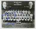 Autographs:Photos, 1941 New York Yankees World Champion Team Signed Photograph. The 1941 baseball season saw the New York Yankees win the Worl...