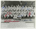 Autographs:Photos, 1946 St. Louis Cardinals Team Signed Photograph. After winning aplayoff for the NL pennant with the Brooklyn Dodgers, the ...