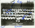 Autographs:Photos, 1954 New York Giants World Champion Team Signed Photograph. Underthe tutelage of manager Leo Durocher, the 1954 New York G...
