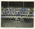 Autographs:Photos, 1962 New York Yankees World Champion Team Signed Photograph. Greatexample of 25 signatures from the World Series champion ...