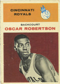Basketball Cards:Singles (Pre-1970), 1961-62 Fleer Oscar Robertson #36. Fantastic rookie entry for Hall of Fame triple-double specialist Oscar Robertson from th...