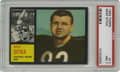 Football Cards:Singles (1960-1969), 1962 Topps Mike Ditka #17 PSA NM 7. Here we offer a great high-grade rookie of the Chicago Bears icon Mike Ditka. His #17...