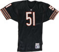 Football Collectibles:Others, Dick Butkus Signed Jersey. Adding to the collection of jerseys we offer in this auction from some of the most beloved and m...