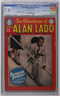 """Adventures of Alan Ladd #5 Davis Crippen (""""D"""" Copy) pedigree (DC, 1950) CGC FN/VF 7.0 Cream to off-white pages..."""