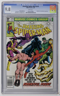 The Amazing Spider-Man #214 (Marvel, 1981) CGC NM/MT 9.8 White pages. Sub-Mariner appearance. John Romita Jr. cover and...