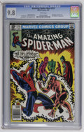 Modern Age (1980-Present):Superhero, The Amazing Spider-Man #215 (Marvel, 1981) CGC NM/MT 9.8 White pages. Sub-Mariner, Fantastic Four, and Frightful Four appear...