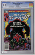Modern Age (1980-Present):Superhero, The Amazing Spider-Man #229 (Marvel, 1982) CGC NM/MT 9.8 White pages. Juggernaut and Madame Web appearances. John Romita Jr....
