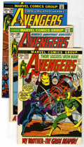 Bronze Age (1970-1979):Superhero, The Avengers (Marvel, 1972-76) Condition: Average VF. Included: Avengers #102,106, 109, 111, 118, 121, and 132, plus Ann... (Total: 9 Comic Books)