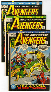 The Avengers Group (Marvel, 1967-76) Condition: Average FN. If you're a Bronze Age Avengers fan, here is a great offerin...
