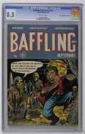 "Golden Age (1938-1955):Horror, Baffling Mysteries #15 Davis Crippen (""D"" Copy) pedigree (Ace,1953) CGC VF+ 8.5 Off-white pages. Highest CGC grade for this..."