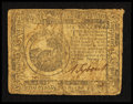 Colonial Notes:Continental Congress Issues, Continental Currency February 17, 1776 $6 Fine.. ...