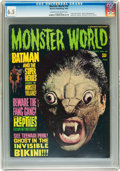 Magazines:Horror, Monster World #10 (Warren, 1966) CGC FN+ 6.5 Cream to off-white pages....