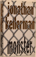 Books:Mystery & Detective Fiction, Jonathan Kellerman. SIGNED. Monster. New York: Random House,1999. First edition. With the author's initials o...