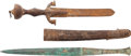 Edged Weapons:Daggers, Lot of Two Relic Daggers.... (Total: 2 )