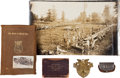 Miscellaneous:Ephemera, Lot of Five Assorted Military Items.... (Total: 5 Items)