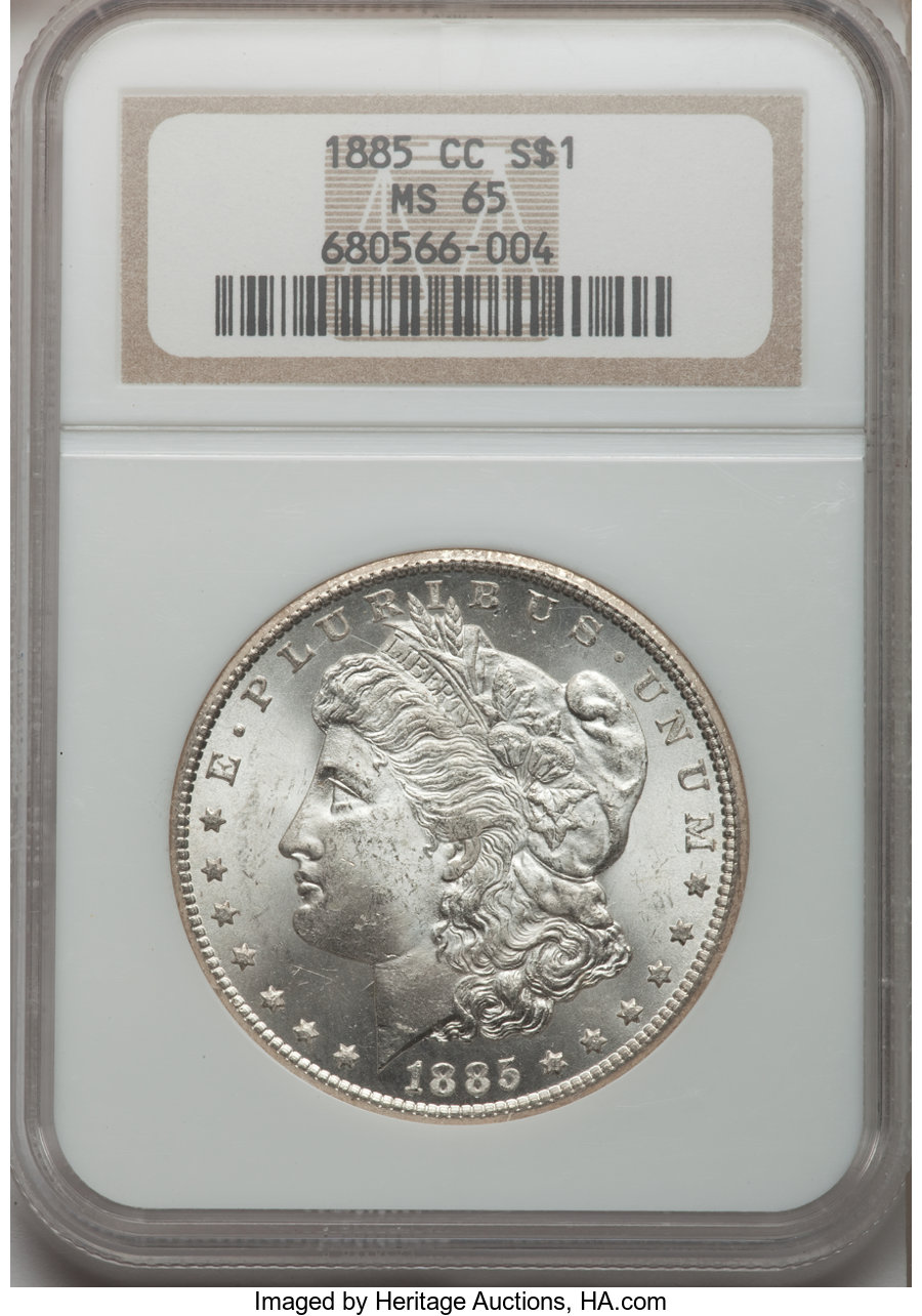 1885 CC $1 MS Morgan Dollars | NGC