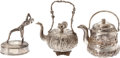 Antiques:Antiquities, Lot of Three Metalware Items.... (Total: 3 Items)