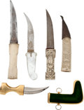 Edged Weapons:Daggers, Lot of 4 Tourist Grade Daggers.... (Total: 4 Items)