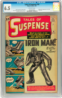 Tales of Suspense #39 (Marvel, 1963) CGC FN+ 6.5 Off-white pages