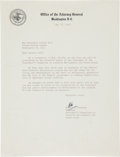 "Autographs:Statesmen, Robert F. Kennedy Typed Letter Signed ""Bob.""..."