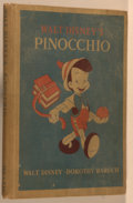 Books:Children's Books, Dorothy Walter Baruch, adapted from Collodi. Walt Disney'sPinocchio. Boston: D. C. Heath and Company, 1940. Oct...