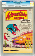 Silver Age (1956-1969):Superhero, Adventure Comics #277 (DC, 1960) CGC NM 9.4 Off-white to white pages....