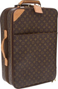 Luxury Accessories:Travel/Trunks, Louis Vuitton Classic Monogram Pegase 55 Rolling Suitcase. ...(Total: 2 Items)
