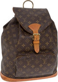 Luxury Accessories:Bags, Louis Vuitton Classic Monogram Montsouris Backpack. ... (Total: 2Items)