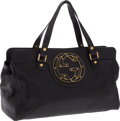 Luxury Accessories:Bags, Gucci Black Leather Classic Tote. ... (Total: 2 Items)