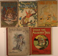 Books:Children's Books, Lot of Five Children's Books including: Little Folk's ABC.New York: McLoughlin Brothers, [nd, circa 1900]. Octa... (Total: 5Items)