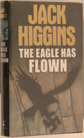 Books:Mystery & Detective Fiction, Jack Higgins. SIGNED. The Eagle Has Flown. [London]: Chapmans, 1991. First edition, first printing. Signed by Higg...