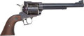 Handguns:Single Action Revolver, Sturm-Ruger New Model Super Blackhawk Single-Action Revolver with Holster....