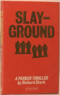 Books:Mystery & Detective Fiction, Richard Stark. [Donald Westlake]. Slayground. London:Allison & Busby, [1984]. First British edition, firstprinting...