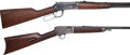 Long Guns:Lever Action, Lot of Two Winchester Rifles.... (Total: 2 Items)