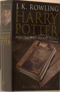 Books:Children's Books, J. K. Rowling. Harry Potter and the Half-Blood Prince.[London]: Bloomsbury, [2005]. First edition, first printing. ...