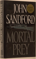 Books:Mystery & Detective Fiction, John Sandford. SIGNED. Mortal Prey. New York: Putnam,[2002]. First edition, first printing. Signed by Sandford ...