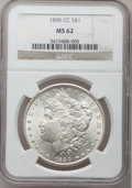 Morgan Dollars: , 1890-CC $1 MS62 NGC. NGC Census: (1532/2706). PCGS Population: (2718/6705). CDN: $550 Whsle. Bid for problem-free NGC/PCGS ...