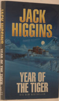 Books:Mystery & Detective Fiction, Jack Higgins. SIGNED. Year of the Tiger. London: MichaelJoseph, [1996]. First edition, first printing. Signed by ...
