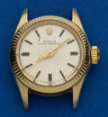 Timepieces:Wristwatch, Rolex Ref. 6619 Lady's 14k Gold Oyster Perpetual. ...