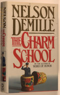 Books:Mystery & Detective Fiction, Nelson DeMille. SIGNED. The Charm School. [New York]: WarnerBooks, [1988]. First edition, first printing. Signed ...