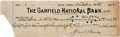 Autographs:Checks, 1912 World Series Victor's Check Issued to Boston Red Sox ManagerJake Stahl....